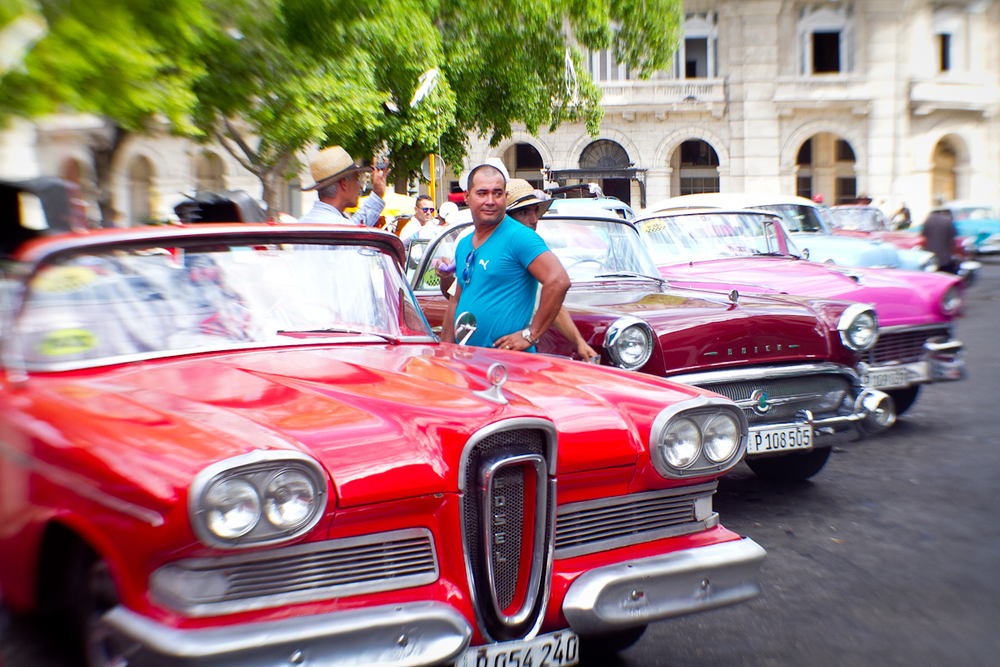 Taxis, Havana, Cuba