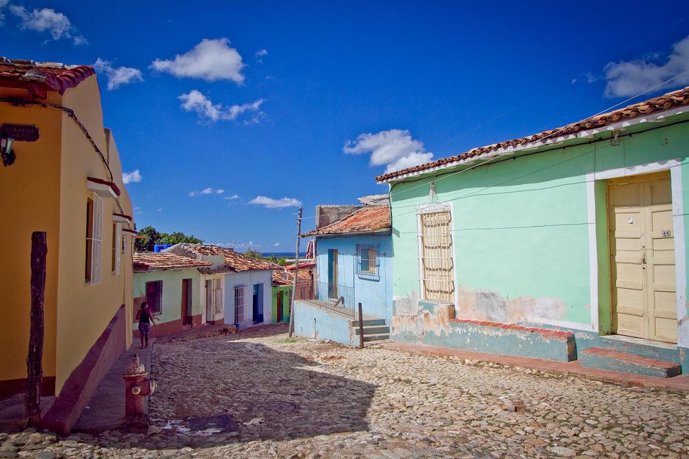 Street scene, Trinidad, Cuba