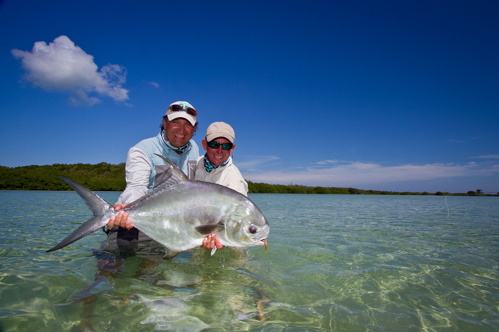 Fly Fishing for Permit, Gardens of the King, Cuba