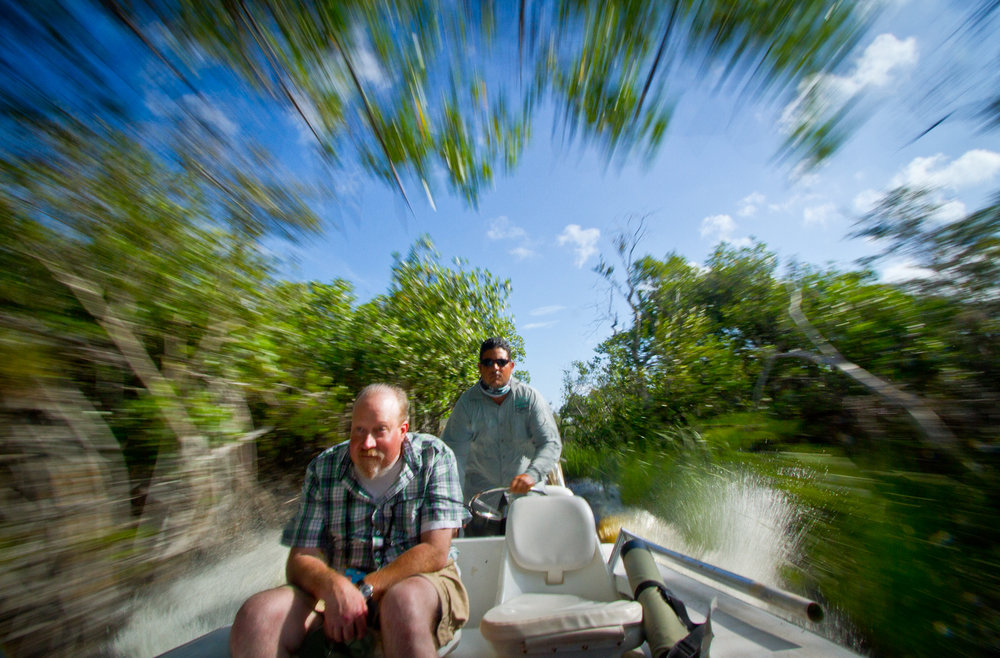 Mangrove Channel, Zapata Peninsula, Cuba