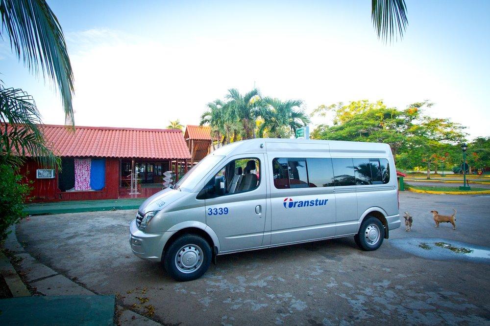 Transportation to and from Havana, Zapata Peninsula, Cuba