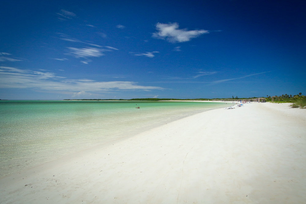 Wow. The beach at Cayo Ensenachos is stunning.