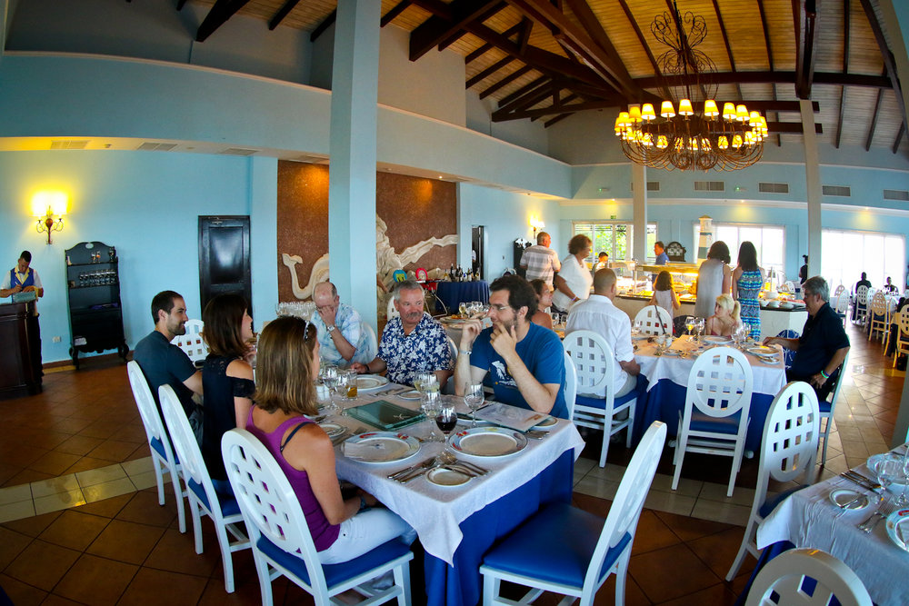 One of 5 restaurants at the resort
