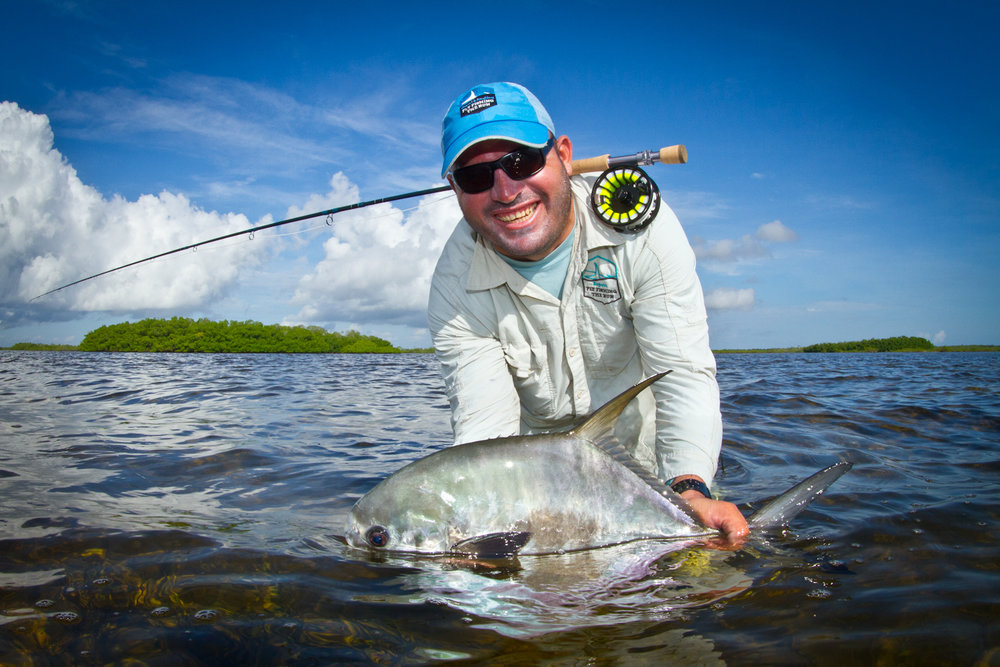 The smiling Cachimbo, racking up another Zapata Permit