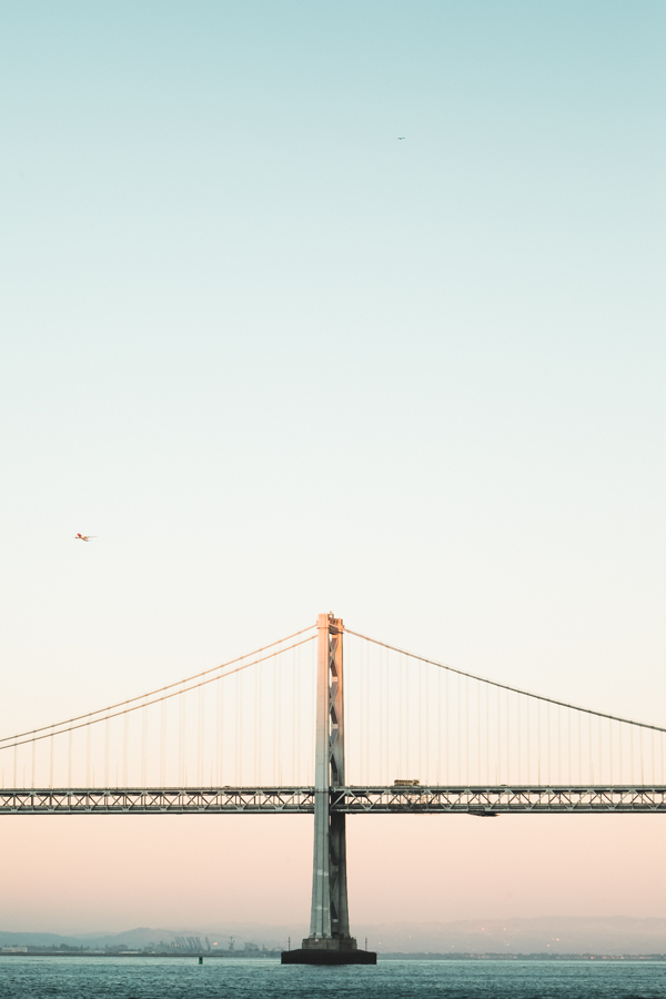 Bay Bridge from Pier 7