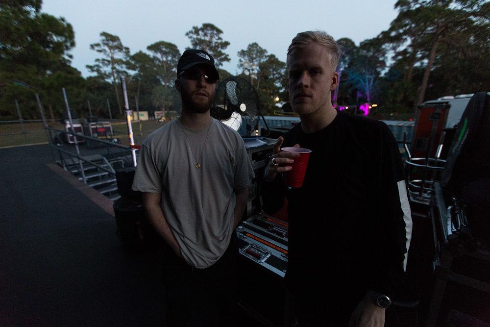 Snakehips - @snakehipsmusic   Okeechobee Festival - 3.3.17  Okeechobee, Florida