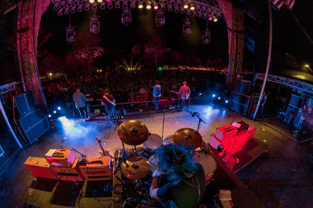 Joywave -  @joywavemusic   Okeechobee Festival - 3.3.17  Okeechobee, Florida