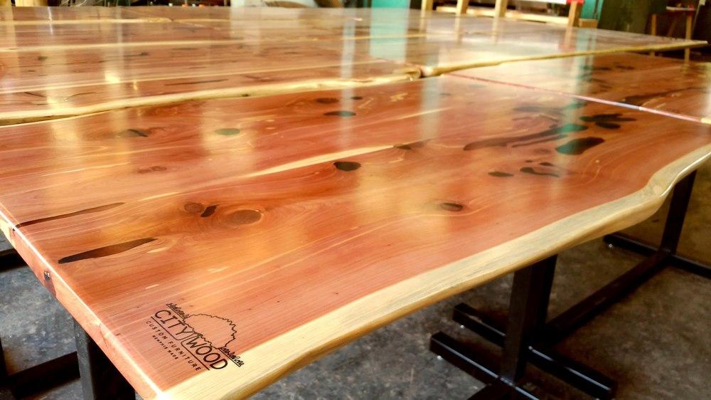 Finished Cedar