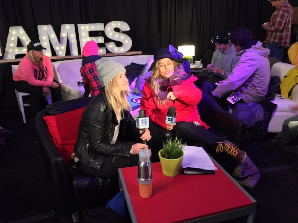 chanelle sladics xgames gretchen blieler interview green