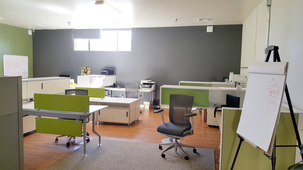 Dedicated spaces are also available for individuals and companies to lease on a full-time basis.