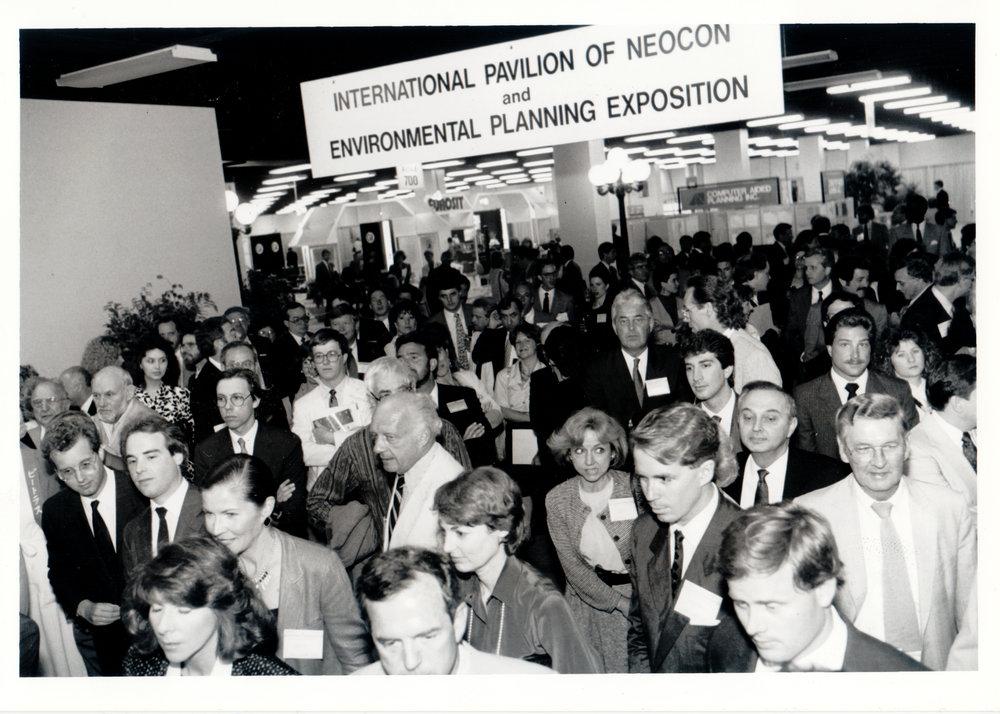 Neocon hallways 1988
