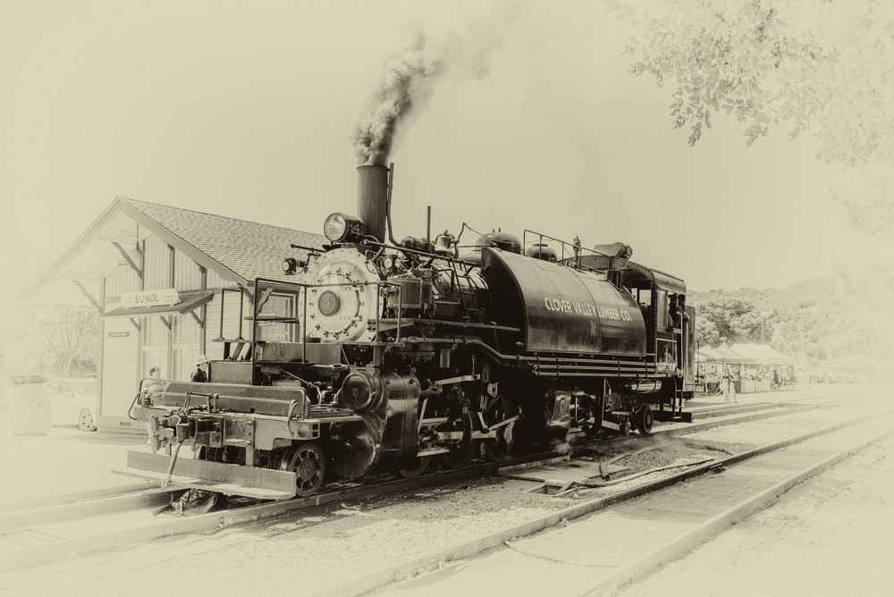 Niles Canyon Railway - Sunol