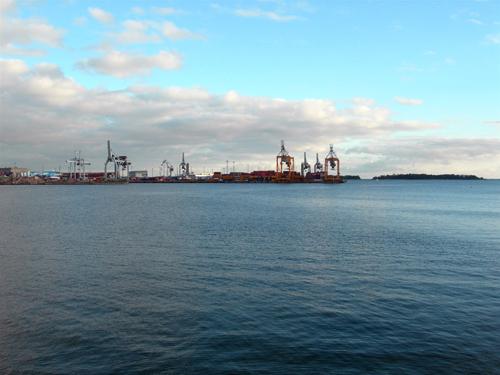Lauttasaari Harbor