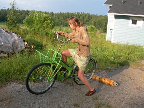 Liisa's felting experiment