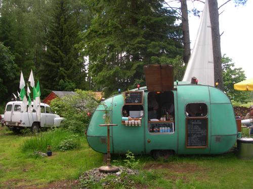 Crepe caravan