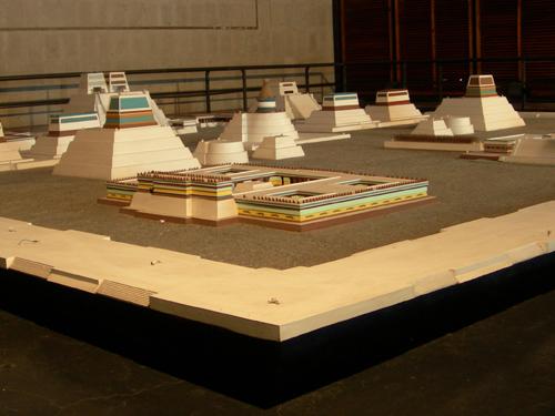 Templo Mayor - museum model