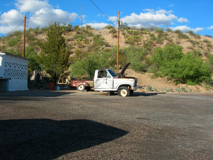 Half a truck | Ruidosa, Texas