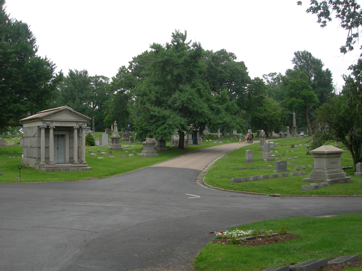 In search of the Wright Brothers / Woodland Cemetary