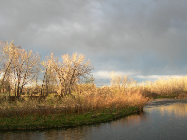 Storm clouds on the Poudre Trail / Fort Collins, CO