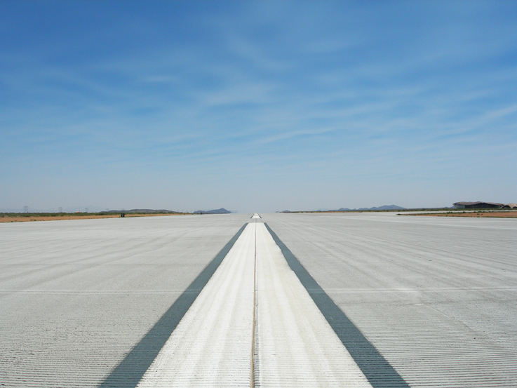 Spaceport America - runway