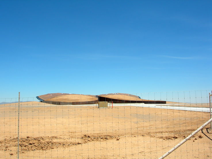 Spaceport America—Virgin Galactic Gateway to Space, rear view