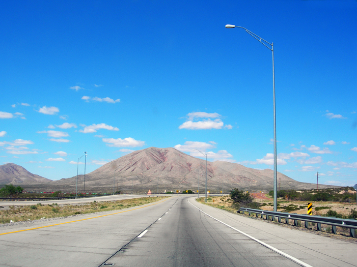 I-10 Southbound to Marfa, Texas