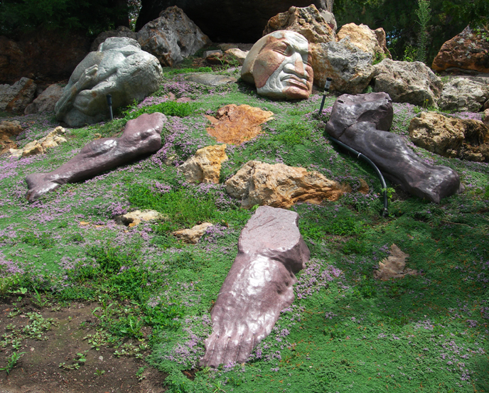 Strewn limbs / Gilgal Sculpture Garden, Salt Lake City, Utah