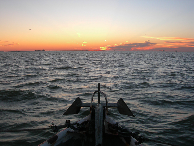 Dawn / Galveston Bay, Texas