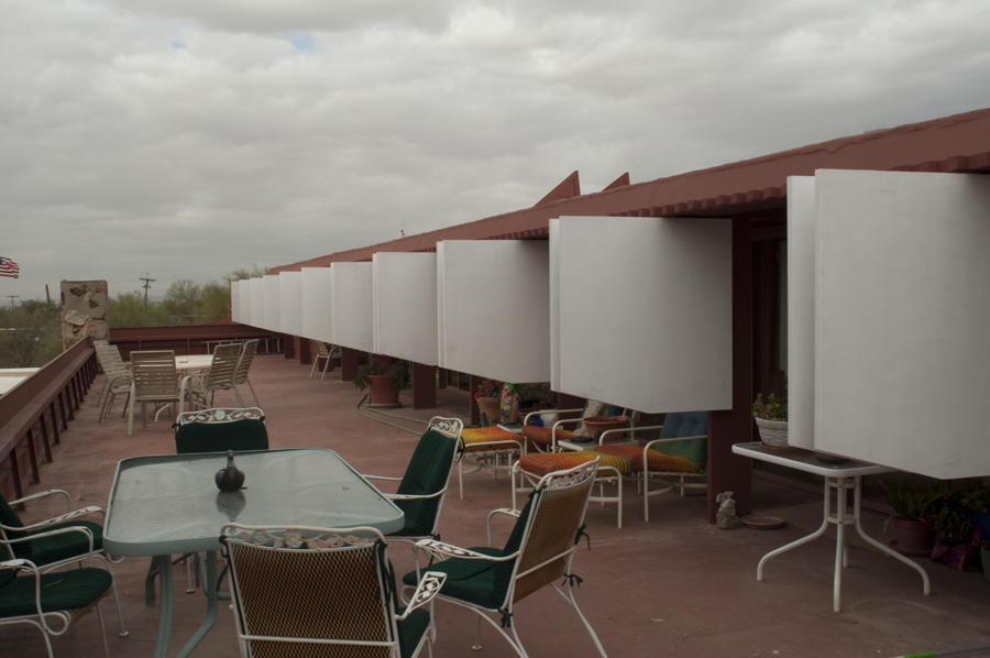 Taliesin West Guest Deck
