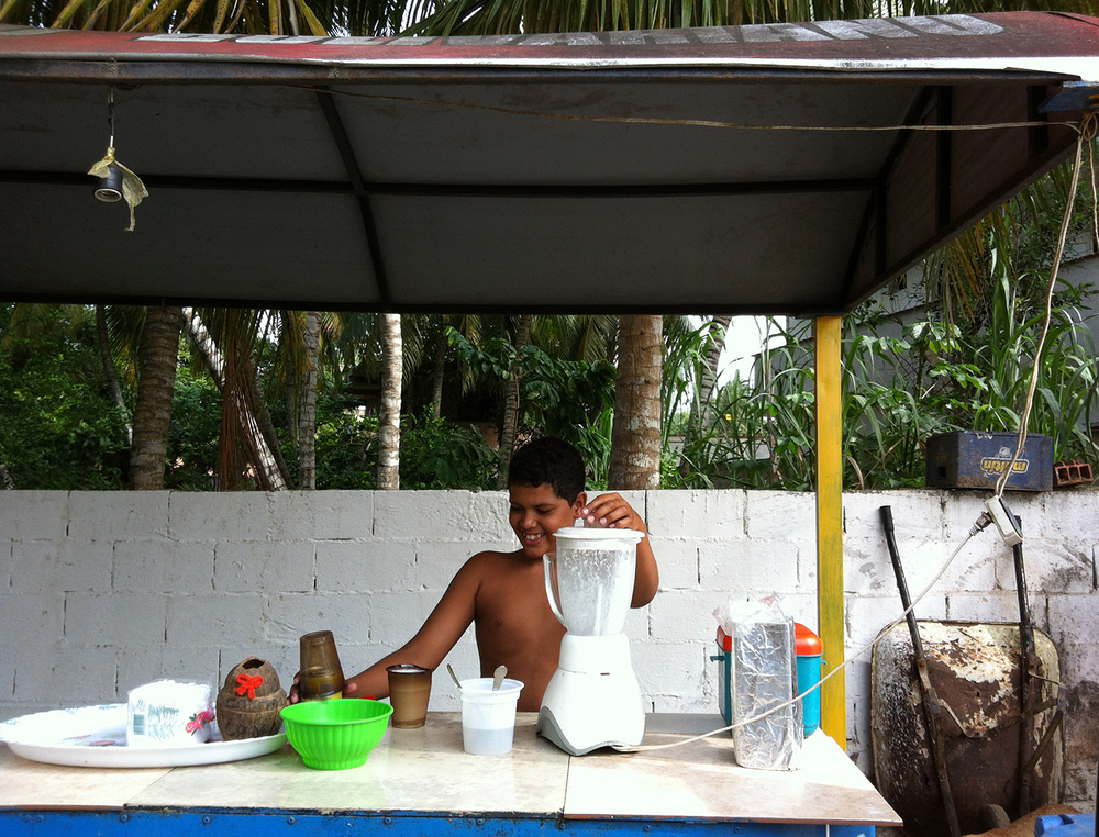 Cocada stand