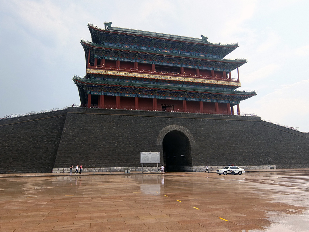 Zhengyangmen Gate Tower, Tiananmen Square
