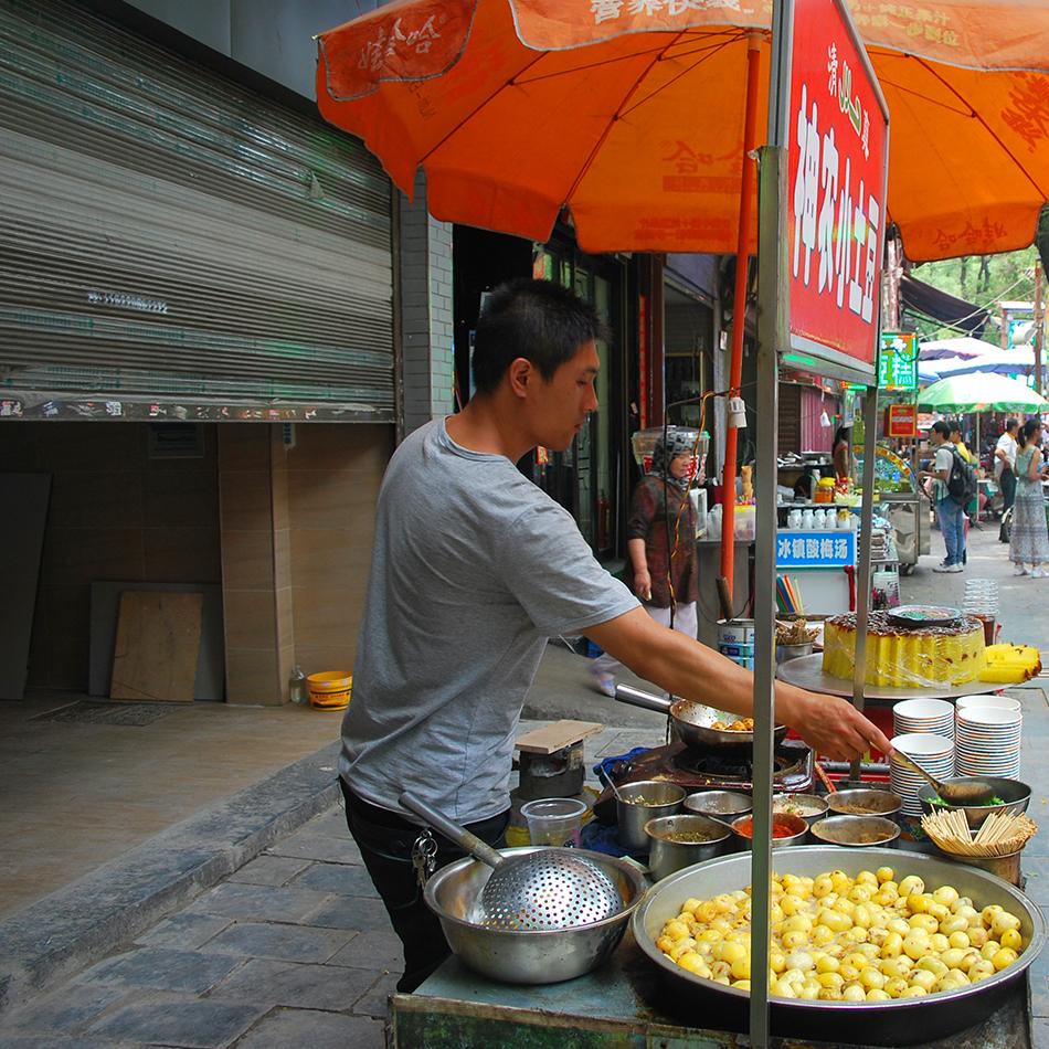 Muslim Quarter street food