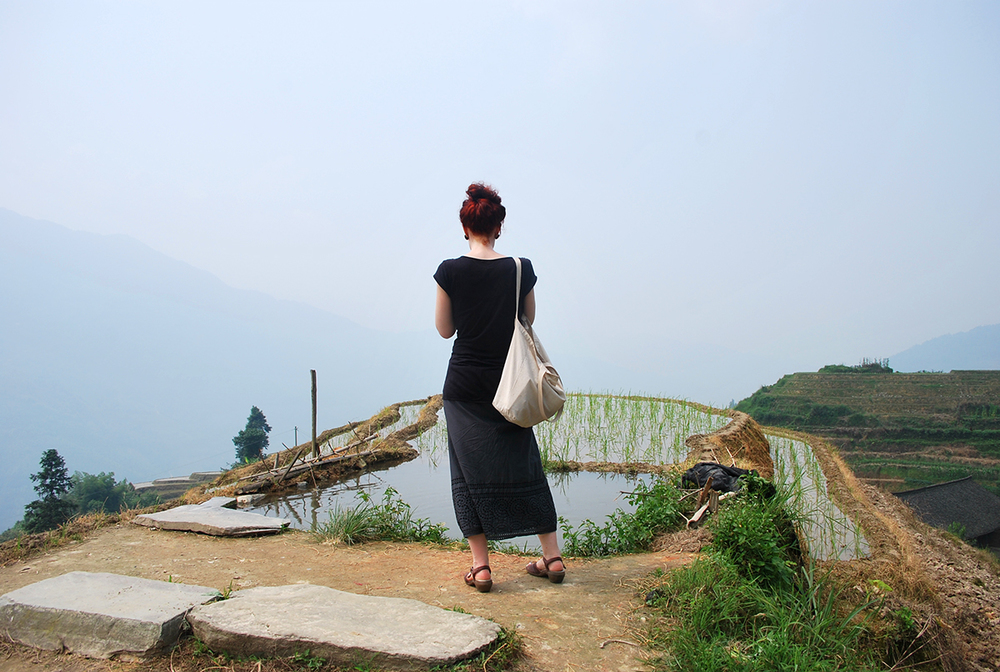 Overlooking the edge / Longsheng Rice Terrace