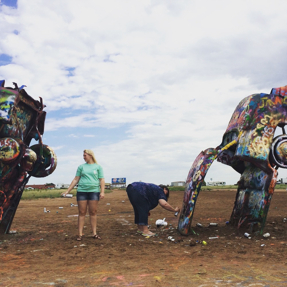 Cadillac Ranch / Amarillo, Texas