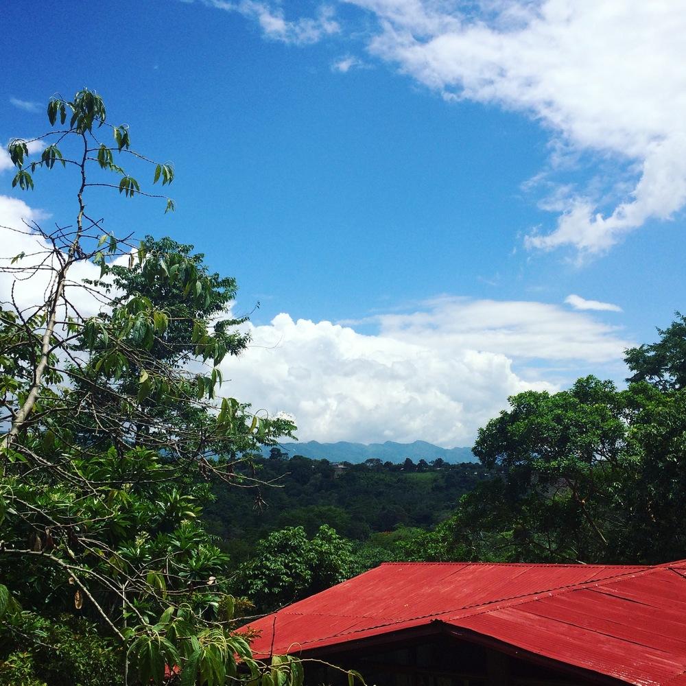 rooftops at Yacumama