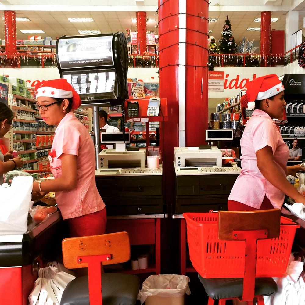 Santa clerks