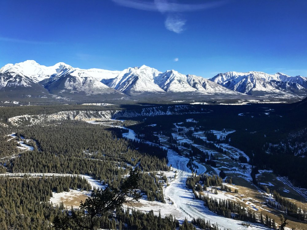 Overlooking the Bow River Valley, Banff National Park