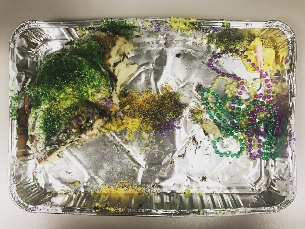 Day after King Cake