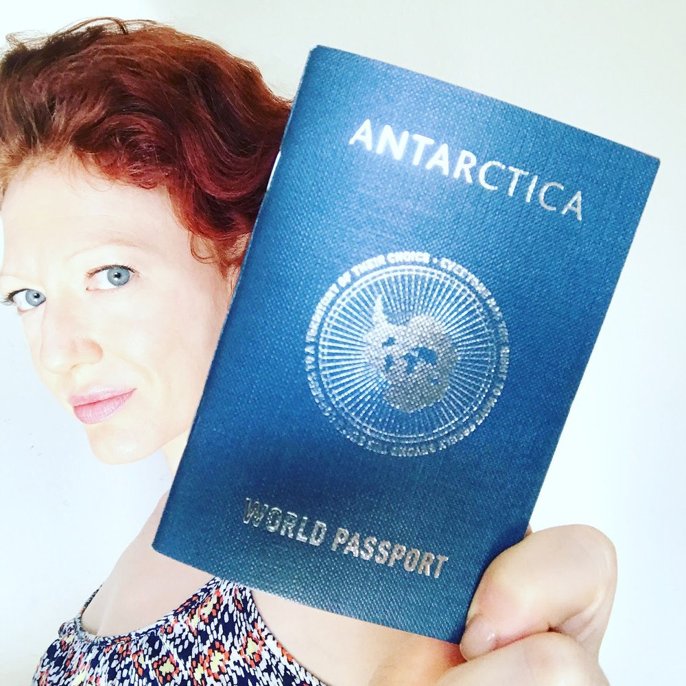 The Antarctica World Passport, by  Studio Orta
