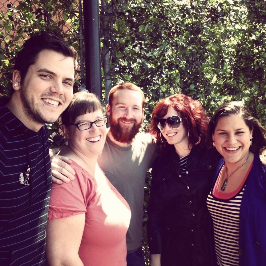 Craft Center cohort:  Robert Thomas Mullen ,  Chanda Glendinning ,  Jayden Moore , myself, and  Tarina Frank