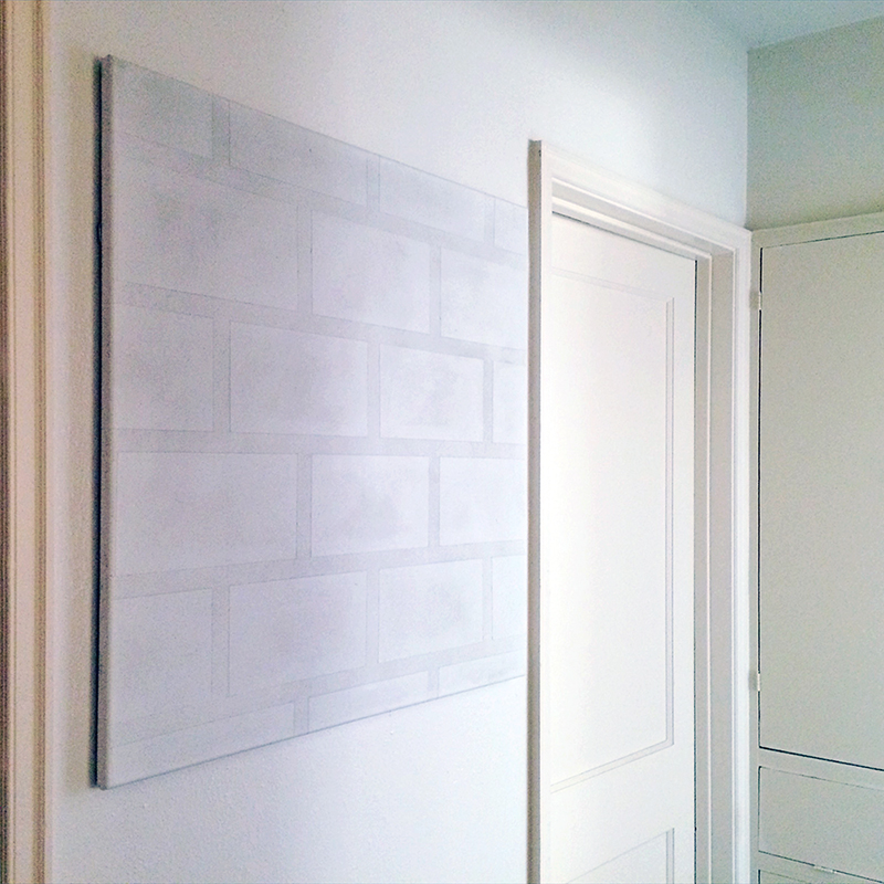 Thad Kellstadt's  magnificent  Dirty White Wall