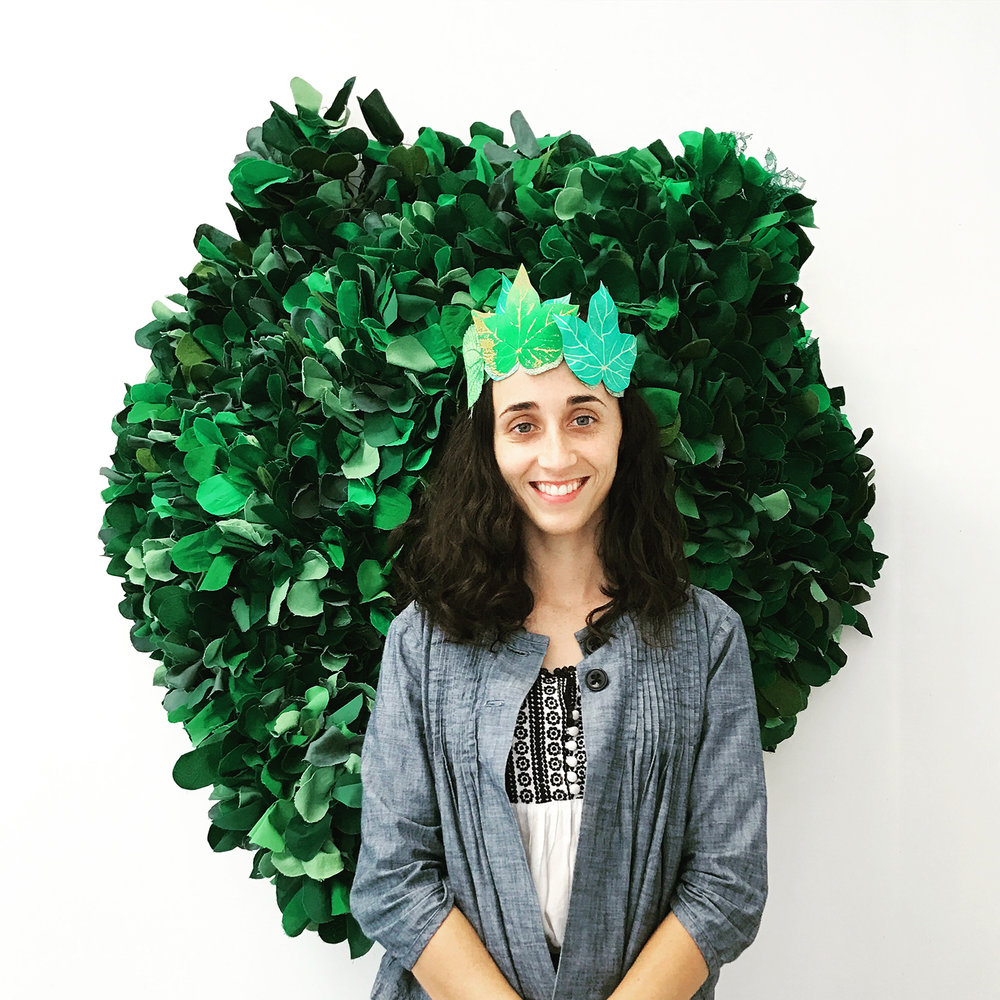 Rebecca  as queen of the Creeping Vine