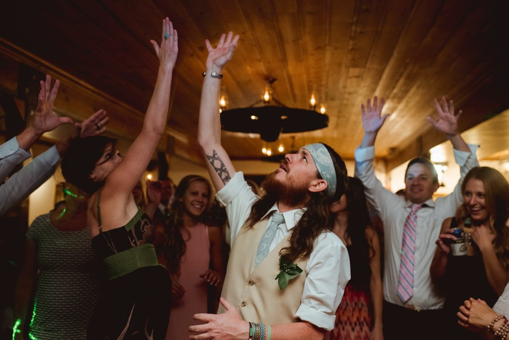 The kind of moments we try to create and capture at every wedding!  Photograph by Amber.