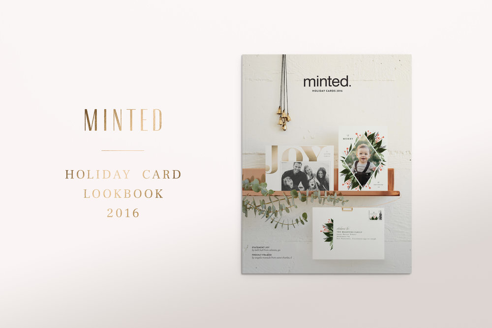 2016 HOLIDAY CARD LOOKBOOK - —MINTEDlearn more