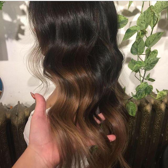 Yum Yummy yummy ashy ashy @thenatzmeowhair #ashblonde#balayage#sombre#ombre#hairpainting#livedincolor#livedinhair#longhair#wella#wellahair#yvr#vancouverhair#colorist