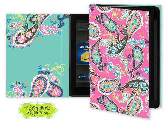 Josephine Kimberling's 'All Dolled Up' Keka Case for tablet devices