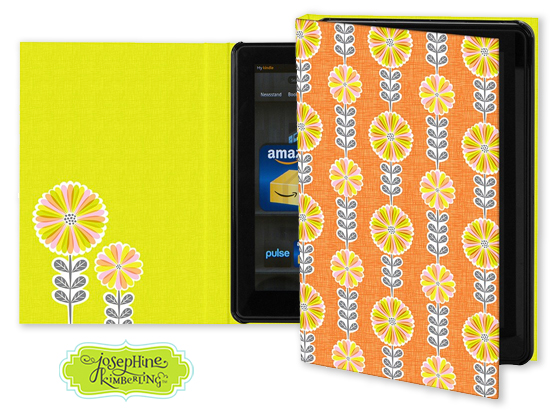 Josephine Kimberling's 'Mod Daisies' Keka Case for tablet devices