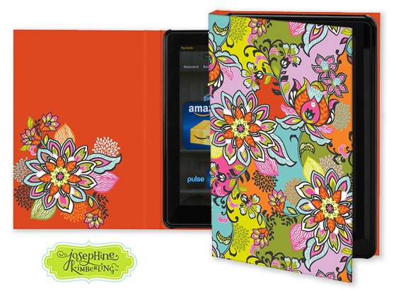 Josephine Kimberling's 'Global Bazaar' Keka Case for tablet devices
