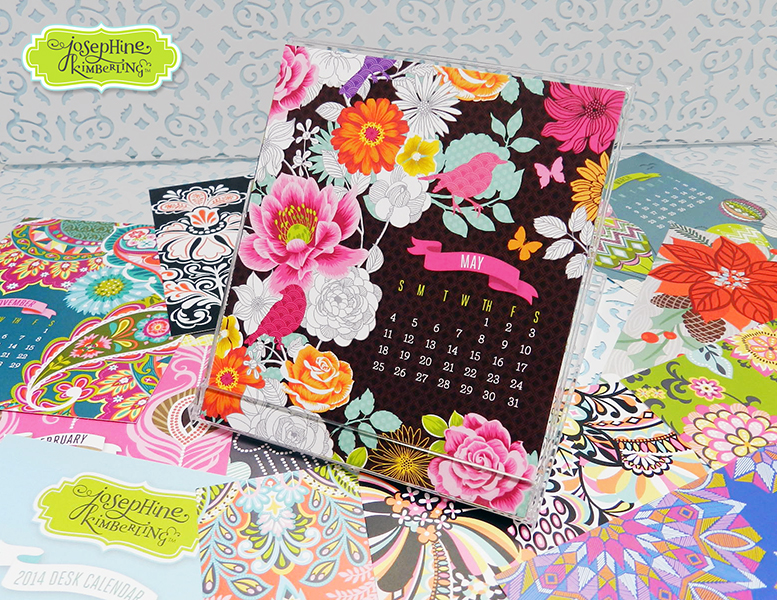 Josephine Kimberling's 2014 Desk Calendar Now Available in Her Etsy Shop! (josephinekimberling)