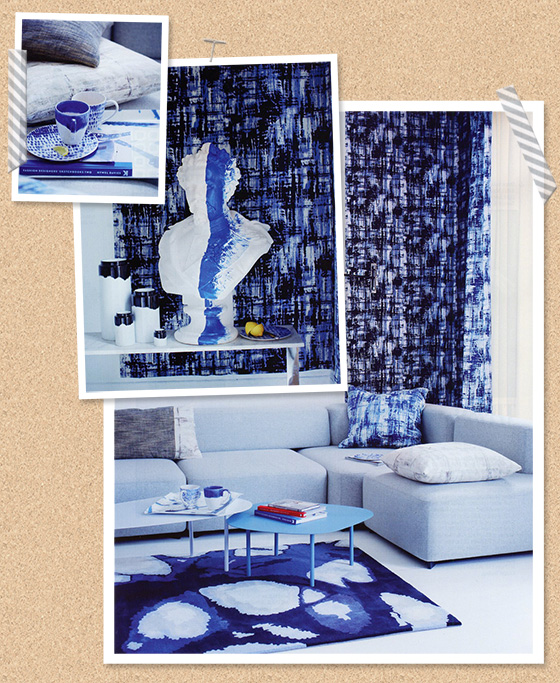 Blue from Living Etc. Magazine